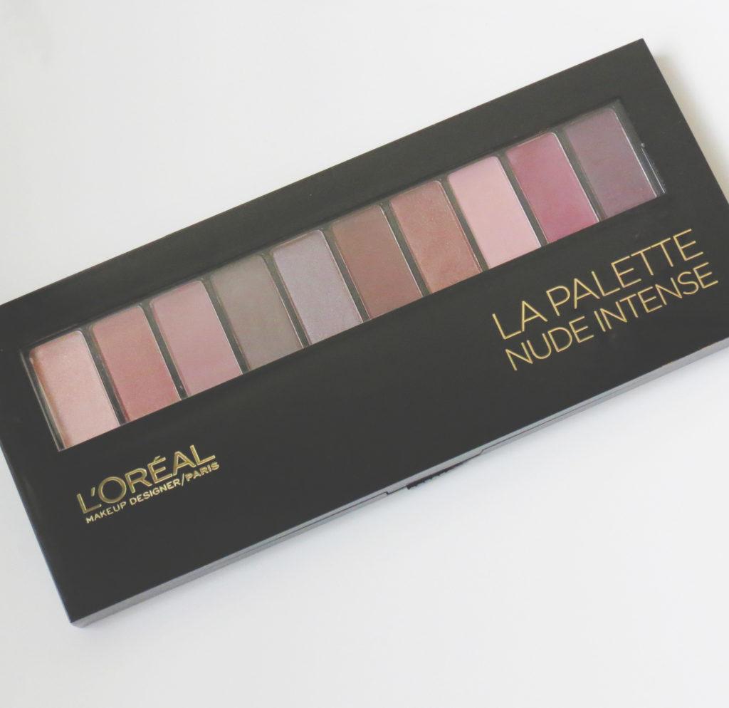Loreal Nude Intense Eyeshadow Palette