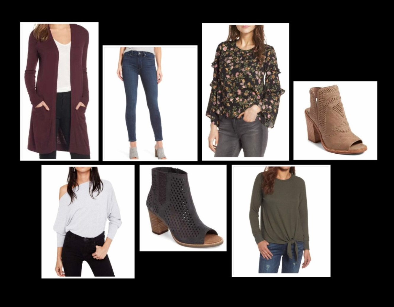 Fall Fashions Collage