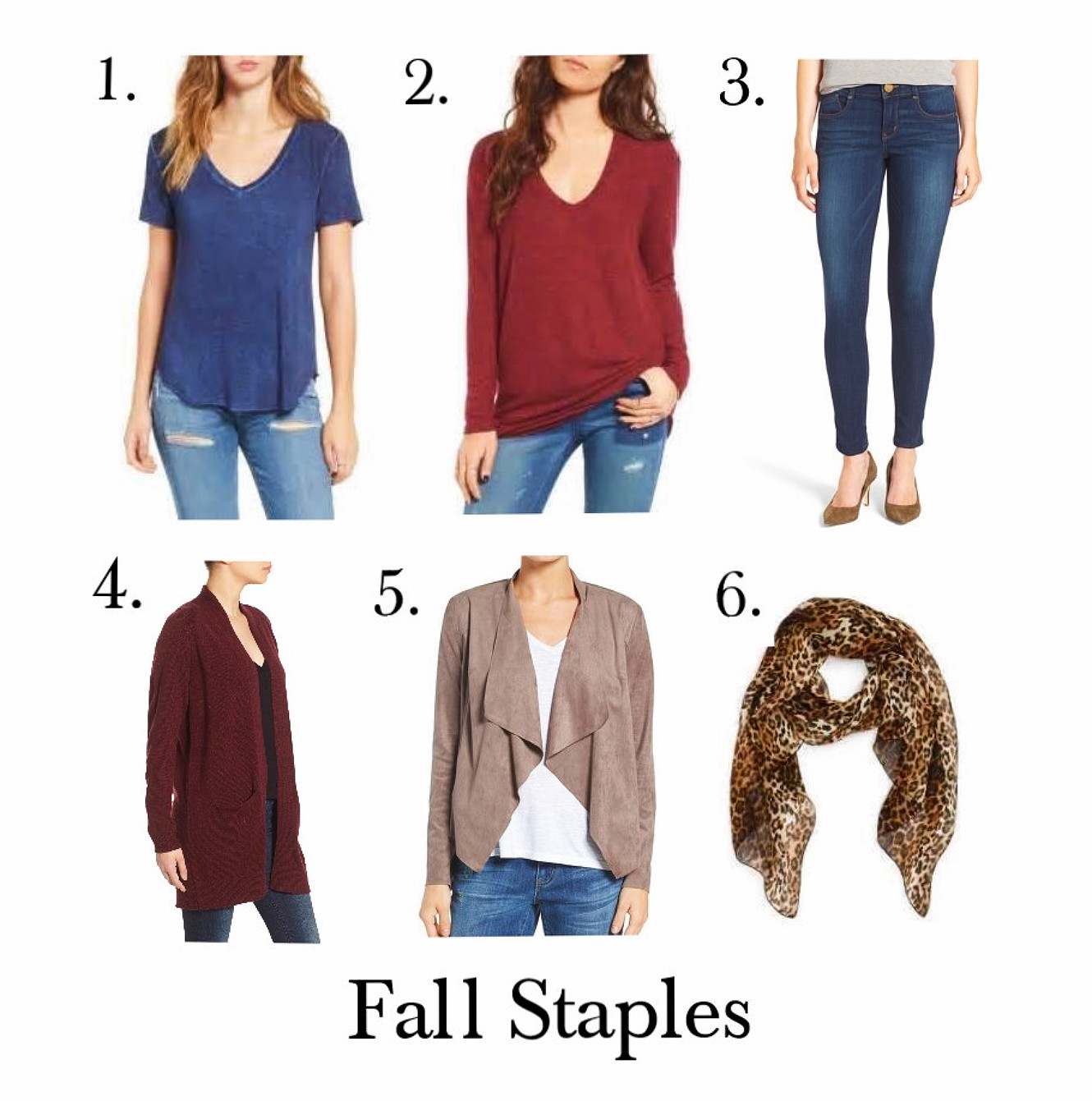 Clothing Items For Fall