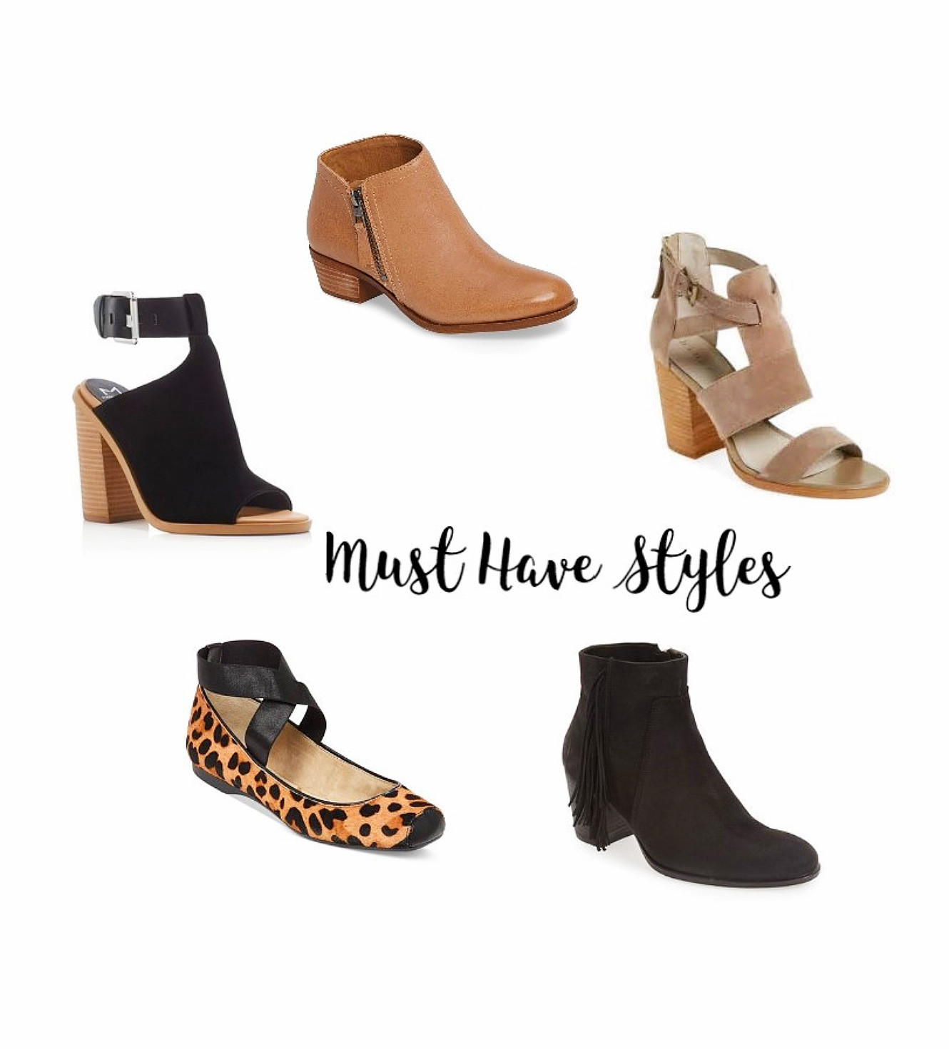 3 Must Have Fall Shoes