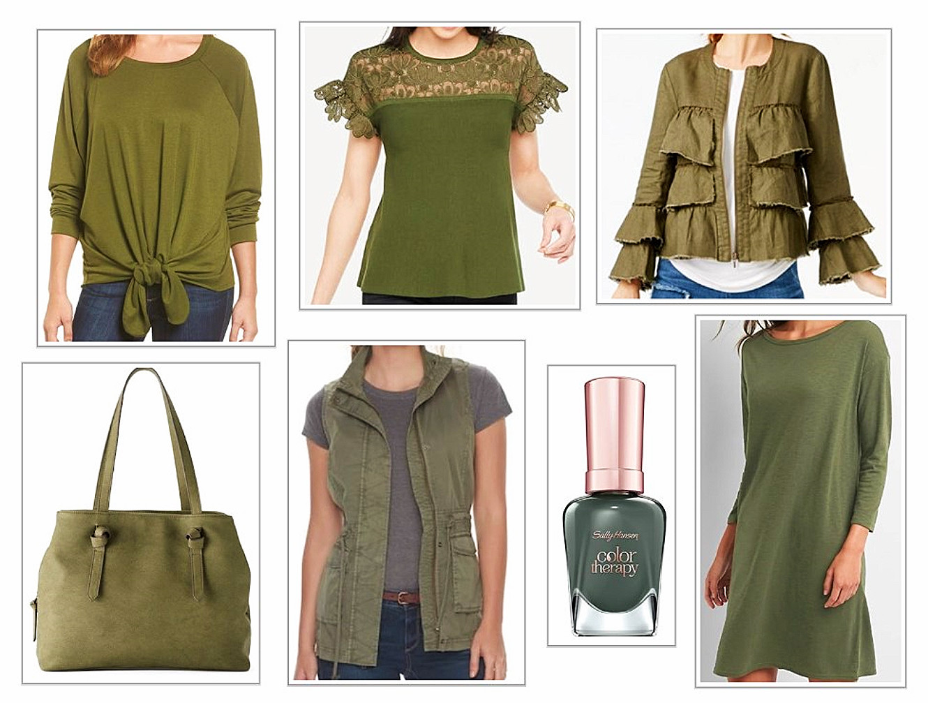 Fashions In Spruce Green