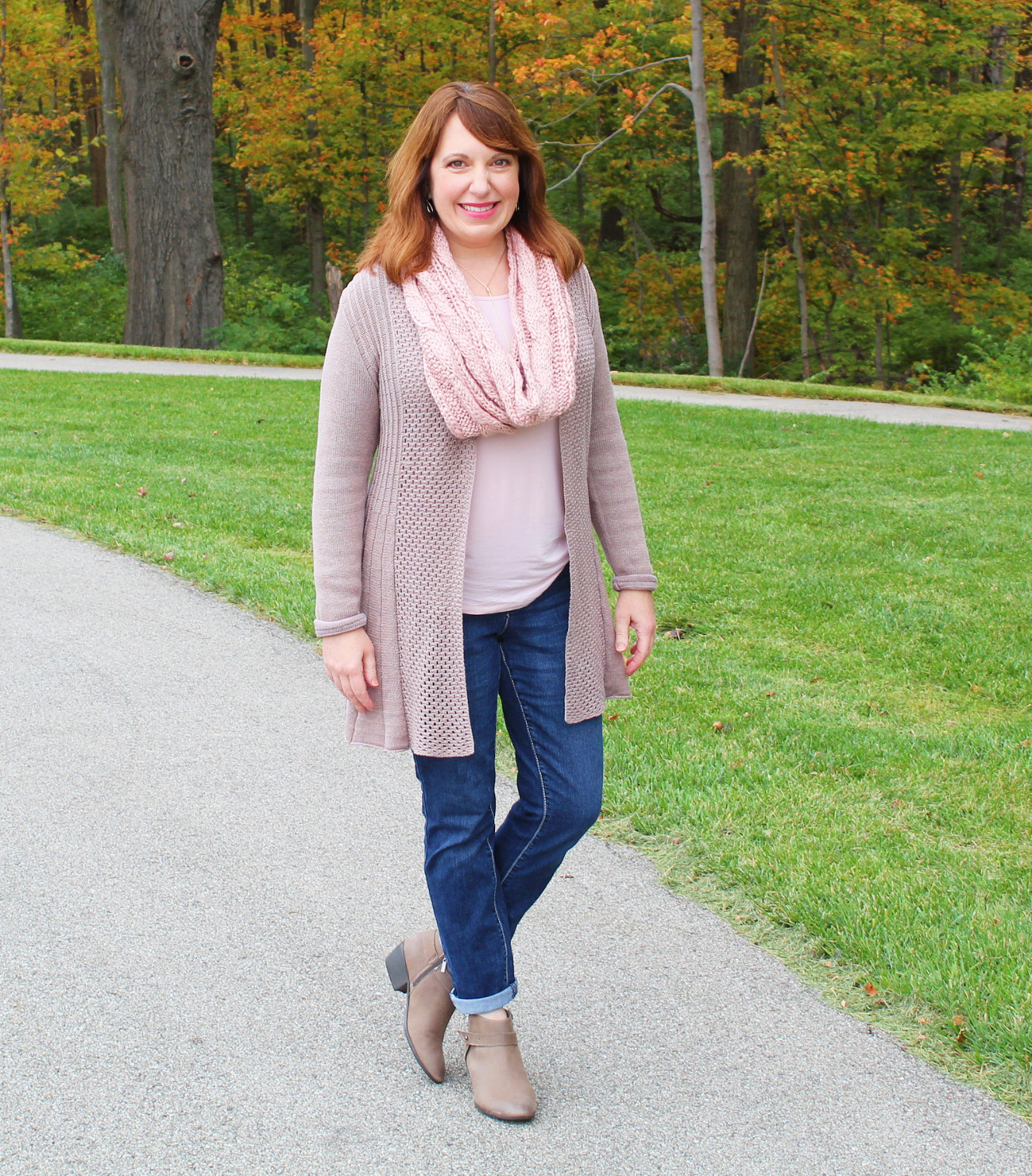0a254523f9d I love a cozy cardigan. It is so simple to throw one on over a short or long  sleeve tee with some jeans.