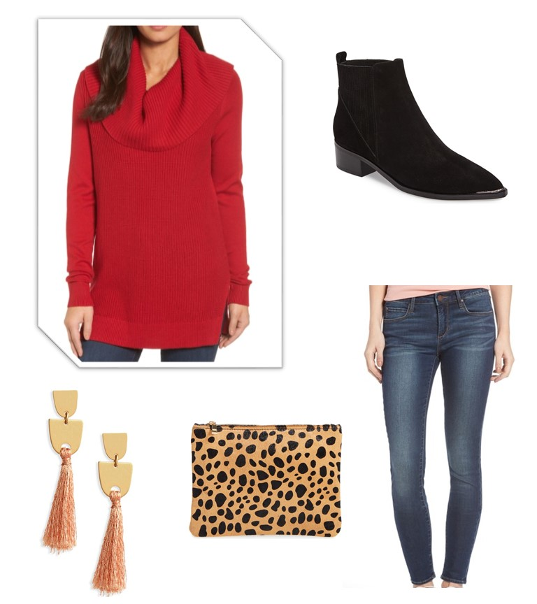 Casual Valentine's Day Outfit/Casual Date Night Outfit