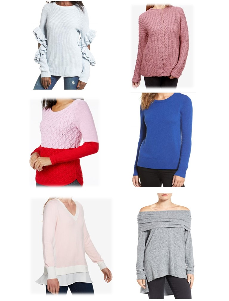 Winter Sweaters/Dressed In Faith Fashion